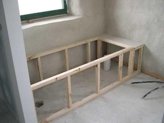 Tub frame